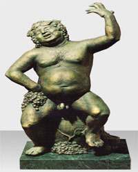 Скульптуру Бахуса можно будет увидеть на фестивале вина в Мукачево