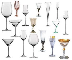 Как выбирают бокал для вина?