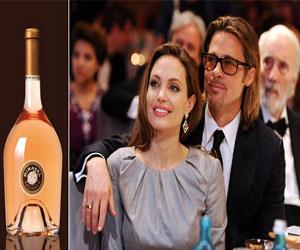 Вино Джоли и Питта подделывают!