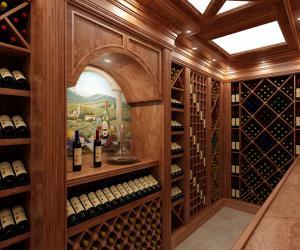 Погреб для хранения вина